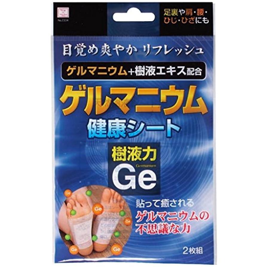 小久保(Kokubo) ゲルマニウム 健康シート(樹液力Ge) (台紙)【まとめ買い12個セット】 2334