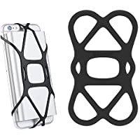シリコンバッテリーケース Sinjimoru iphone andorid など モバイルバッテリーケーススポーツバンドX Grip ブラック (黒)