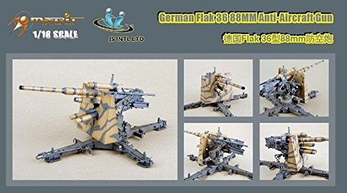 1/18 ドイツ 88mm砲 (塗装済完成品)