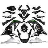 Big-One(ビッグワン) Ninja250 カウル 外装セット ニンジャ250 EX250L 銀/黒 45955