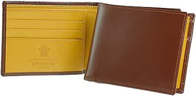 [エッティンガー]ETTINGER 折財布(小銭入れ付) BILLFOLD WITH 3 C/C & COIN PURSE BRIDLE HIDE COLLECTION BH141JR [並行輸入品]
