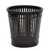 【大型10号用】観葉植物 竹の鉢カバーI(ブラック/黒)