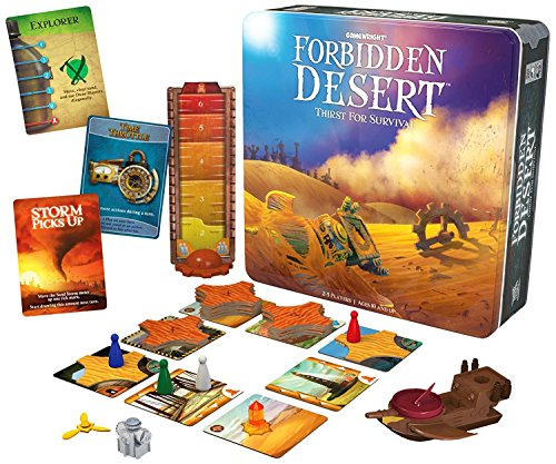 Forbidden Desert Board Game [並行輸入品]