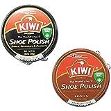 KIWI キウイ 靴クリーム 2個セット 黒と茶