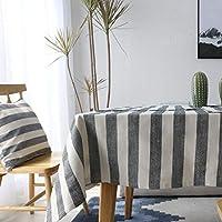 テーブルクロス綿ホーム装飾布コーヒーテーブルレストランテーブルクロス屋外ピクニック布スクエア長方形テーブルクロスコーヒーテーブルマット, 140*220cm