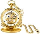 クラシック懐中時計 パリス 3780 -G ゴールドメッキメカニカルポケットウォッチ  チャールズ·ヒューバート 【並行輸入】