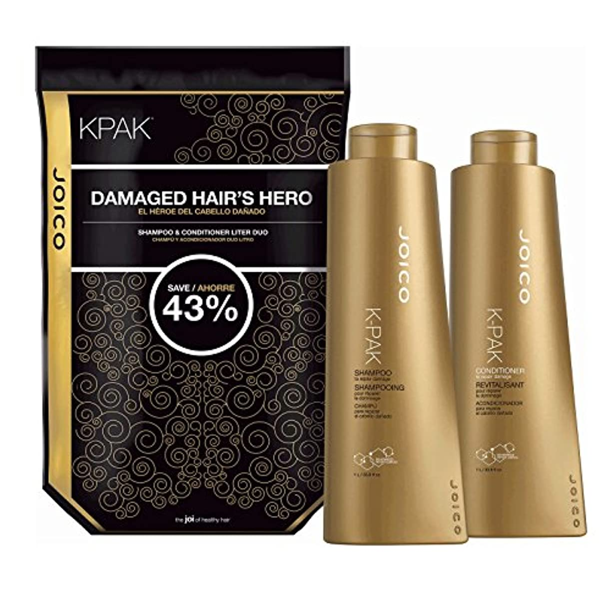 欠員マイクロプロセッサ負担by Joico K PAK RECONSTRUCT DAILY CONDITIONER FOR DAMAGED HAIR 33.8 OZ by JOICO