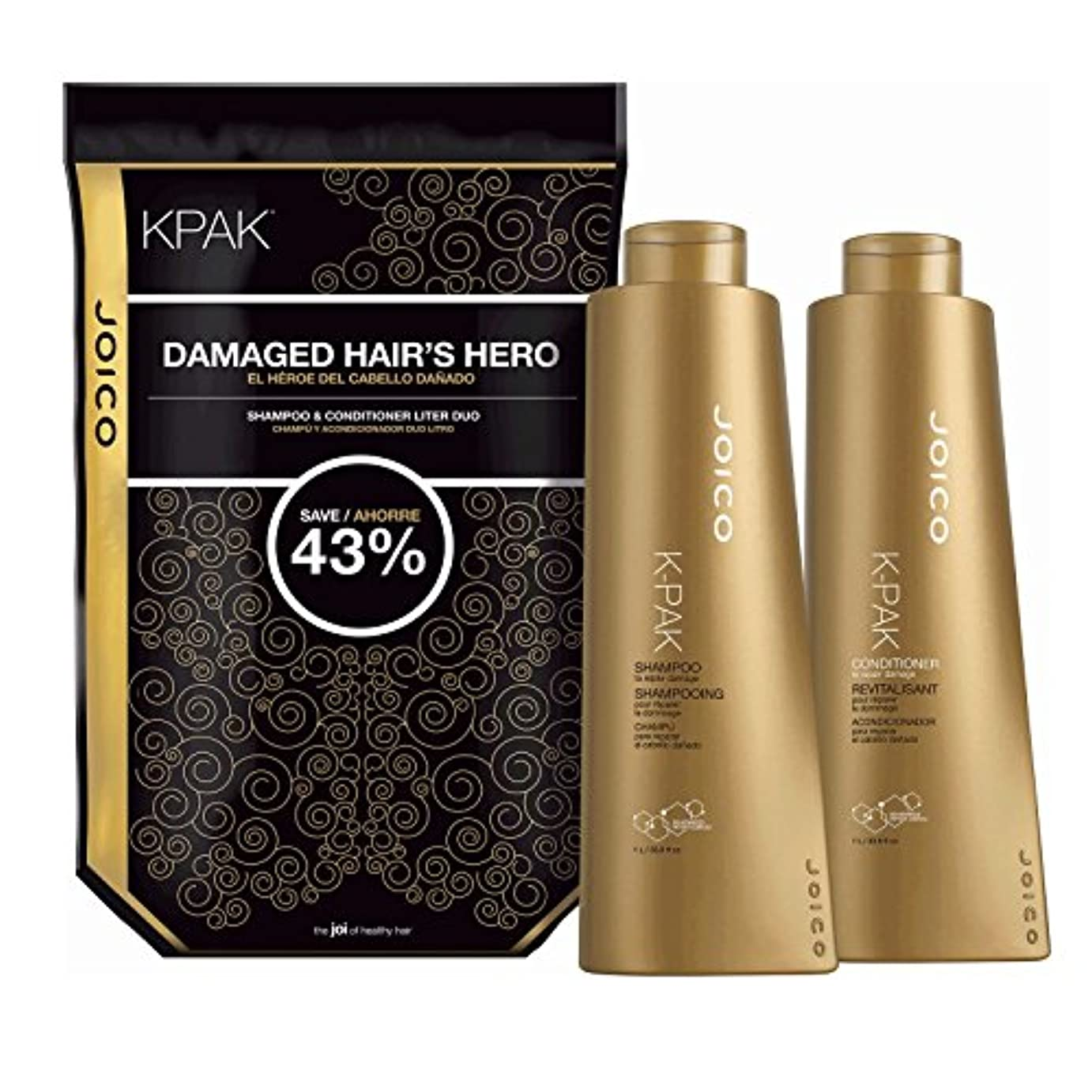 時期尚早適用するじゃないby Joico K PAK RECONSTRUCT DAILY CONDITIONER FOR DAMAGED HAIR 33.8 OZ by JOICO