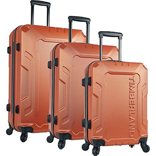 ティンバーランド メンズ スーツケース Boscawen 3-Piece Hardside Spinner Luggag [並行輸入品]