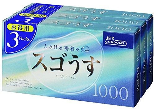 スゴうす 1000 12個入 3箱