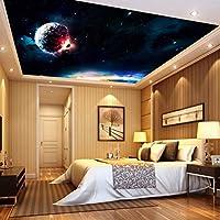 Weaeo パーソナライズされた壁紙壁画Ktvの天井の壁紙3Dステレオスコピック壁画テレビの壁紙-280X200Cm