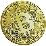 Keepjoy ビットコイン 金メッキ Bitcoin仮想通貨 コイングッズギフト ヨッロパ アメリカ コイン 記念硬貨…