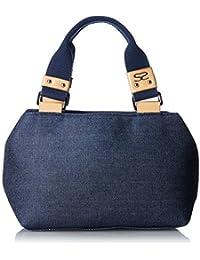 [サボイ] ハンドバッグ デニム地のバッグ SM0702