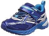 [シュンソク] 運動靴 通学履き 瞬足 大型スパイク 軽量 15~23cm 2.5E キッズ 男の子 SJC 6210 ブルー 18 cm