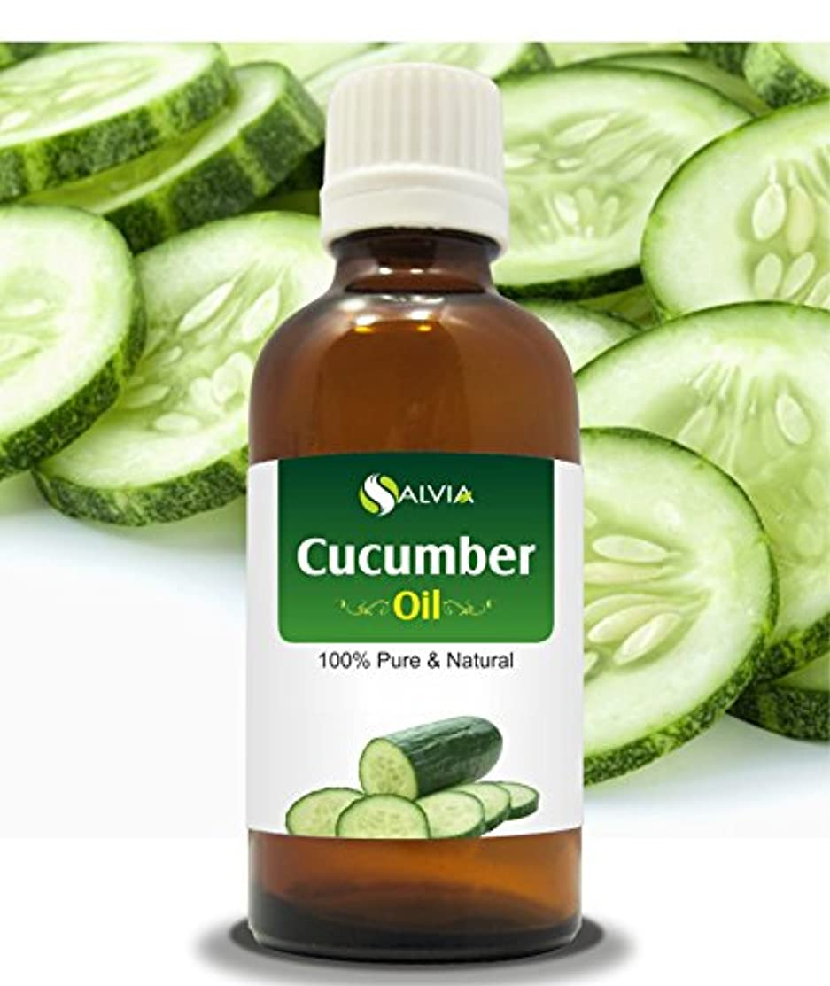 受信機予想外恥ずかしさCUCUMBER OIL (CUCUMIS SATIVUS) 100% NATURAL PURE CARRIER OIL 100ML
