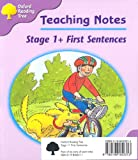 Oxford Reading Tree: Stage 1+: First Sentences: Pack (6 books, 1 of each title)