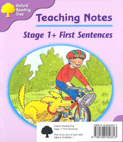 Oxford Reading Tree: Stage 1+: First Sentences: Pack (6 books, 1 of each title)の詳細を見る