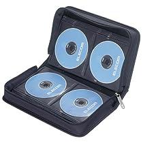 【2004年モデル】ELECOM CCD-W96BK CD/DVDウォレット