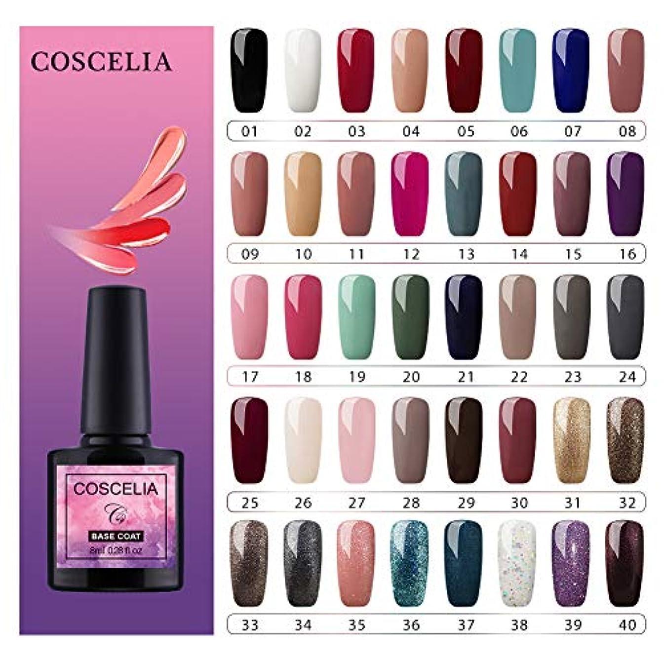 どういたしまして鏡シリングTwinkle Store 8ml、全40色 ジェルネイル カラー セルフネイル キット ジェルネイルキット led ネイルキット ジェルネイルセット (40色)