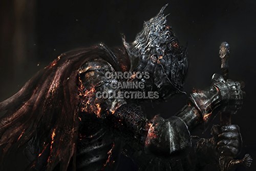 CGC Hugeポスター – Dark Souls III Dead Soldier ps4 Xbo...