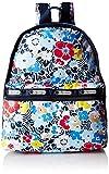 LeSportsac リュック LeSportsac Basic Backpack Ocean Blooms Navy One Size [並行輸入品]