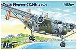 バロム 1/72イギリス空軍 S.A. ツインパイオニアCC Mk.1小型輸送機 プラモデル CV72136