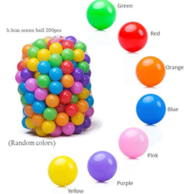 400個ベビーキッドPit ToyゲームSwimプールソフトプラスチック海洋ボール5.5 CM