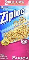Ziploc Snack Bags, Value Pack, by Ziploc