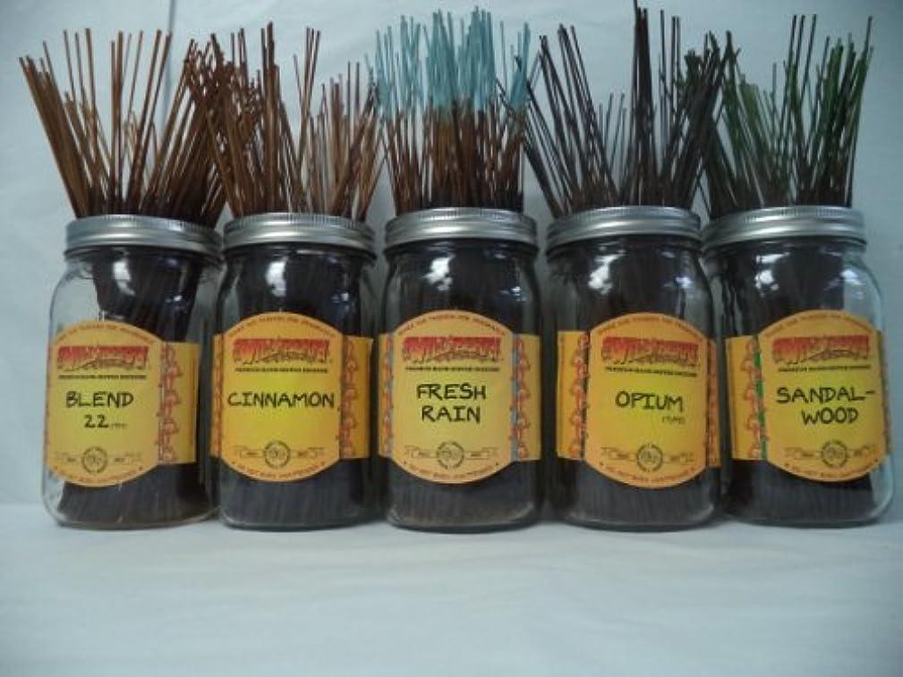 グリップ郡アマチュアWildberry Incense Sticks Best Sellerセット# 3 : 10 Sticks各5の香り、合計50 Sticks 。