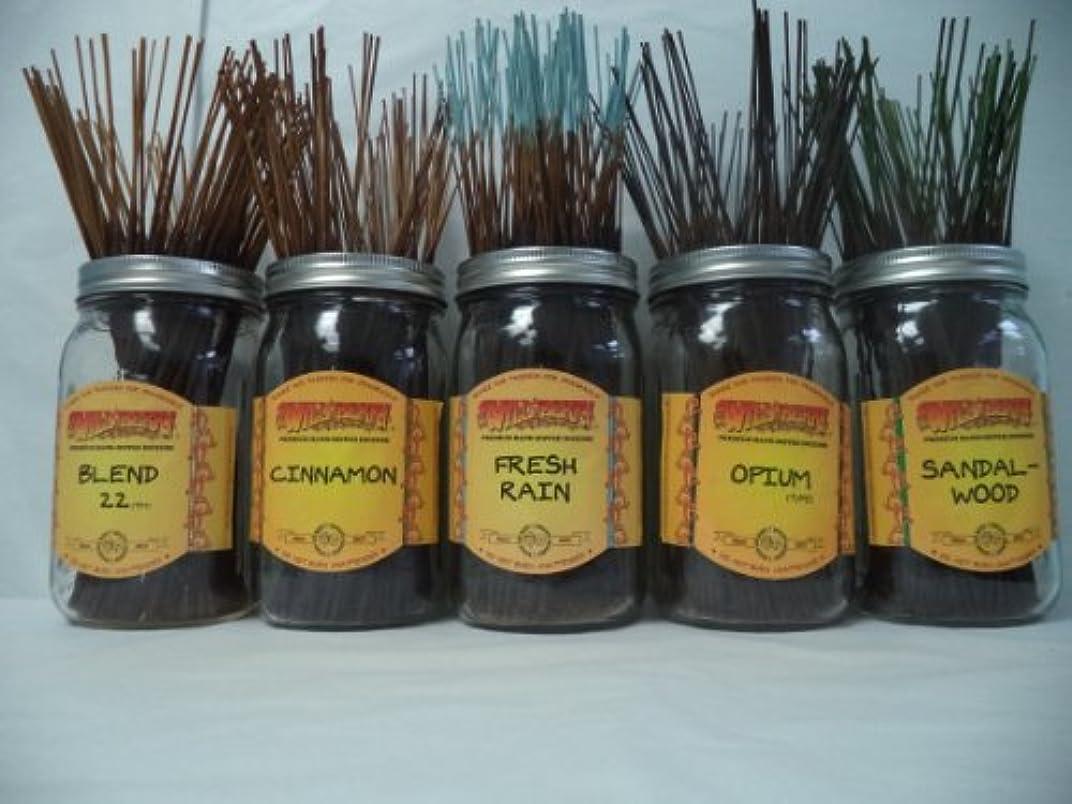 ますます箱取り出すWildberry Incense Sticks Best Sellerセット# 3 : 10 Sticks各5の香り、合計50 Sticks 。