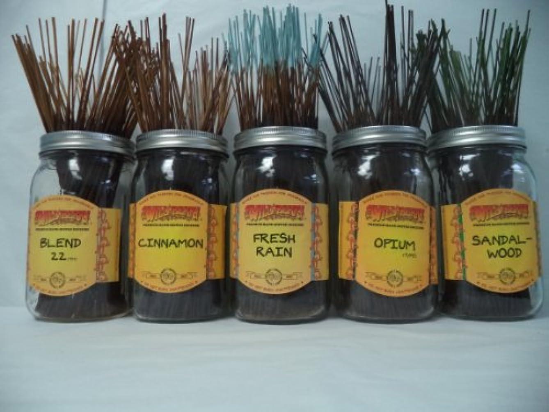 組み込む司令官リムWildberry Incense Sticks Best Sellerセット# 3 : 10 Sticks各5の香り、合計50 Sticks 。