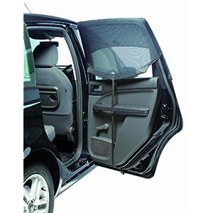 outlook アウトルック 換気ができる車用サンシェイド auto shade オート シェード Rectangular 直角ドア用 2枚入