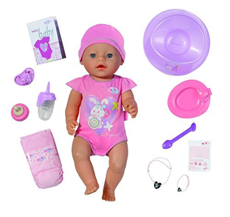 BABY born(ベイビーボーン) 赤ちゃん お世話 人形 ドール Interactive Doll by Baby Born [並行輸入品]