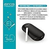 EFOS E1(イーフォス エーワン)ブラック 正規代理店 安心の3ヶ月保証 日本語説明書付き 正規品 加熱式タバコ ヴェポライザー 電子タバコ 加熱式たばこ (ブラック)