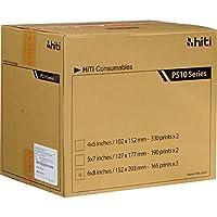 HiTi P510 6x8 リボン&ペーパーケース、合計330枚の6x8インチプリント
