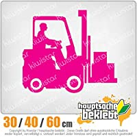 KIWISTAR - Forklift trucks 15色 - ネオン+クロム! ステッカービニールオートバイ