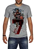 Palalula Men's Basketball Milwaukee Bucks Nate Archibald Tribute T-Shirt M Grey