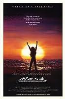 マスク映画ポスター27x 40インチ–69cm x 102cm ) ( 1985)–( Cher ) (サム・エリオット) ( Eric Stoltz ) (エステル・ゲティ) (リチャード・Dysart ) (ローラ・ダーン)