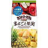 不二家 カントリーマアムまるごと果実(アップル&パイナップル) 7コ(コホウソウシテアリマス。)×5個