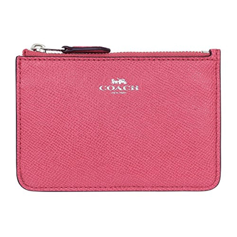 [コーチ] COACH 財布 (コインケース) F57854 ストロベリー SV/SY レザー コインケース レディース [アウトレット品] [並行輸入品]