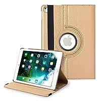 iPad Pro 12.9 インチ 第2世代 ケース アイパッドケース 保護カバー 360度回転 シンプル レザー 薄型 iPadケース ブラック apple A1671 A1670