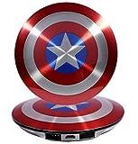 POWER BANK 6800mAh Captain America's shield キャプテンアメリカ シールド モバイル バッテリー [並行輸入品]