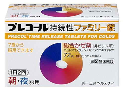 プレコール持続性ファミリー錠の画像