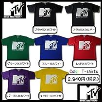 MTV ロゴプリント半袖Tシャツ 人気商品!!【MTVT-001/EXILE/西野カナ/少女時代/ウサビッチ/Kara/レディース】