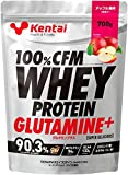 Kentai 100%CFMホエイプロテイン グルタミン+ アップル風味 700g