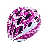(KINGKA SPORTS) キンカスポーツ X-ONE ヘルメット 子供用 自転車 インラインスケート (ピンク)