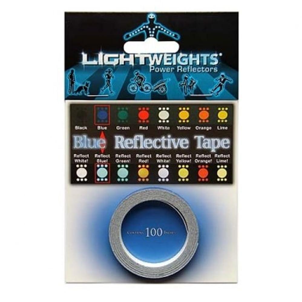 申請中ボクシング残高ライトウェイツパワーリフレクター TAPE 100 ブルー