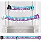 Must Dance to the Beat - Dance - Birthday Party Bunting Banner - Birthday Party Decorations - Happy Birthday [並行輸入品]