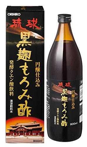 オリヒロプランデュ 琉球黒麹もろみ酢 瓶900ml