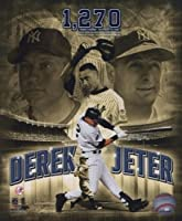 Photofile pfsaakg06201Derek Jeter 2008ほとんどキャリアヒットat Yankee Stadium Portrait Plusスポーツ写真–8x 10